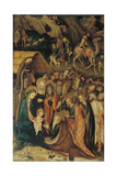 Scenes from the Nativity of Jesus Christ Giclee Print