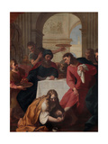Magdalene in the House of Simon the Pharisee Giclee Print by Giuseppe Tortelli