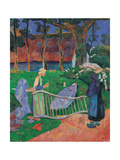 Fence with Flowers Giclee Print by Paul Serusier