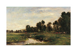 The Arques Valley (Seine Maritime) Giclee Print