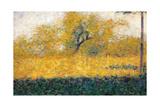 Edge of Wood Reproduction procédé giclée par Georges Seurat
