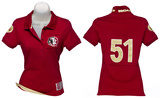 Juniors: Florida State Seminoles - Collar Scholar Polo Shirt T-shirts