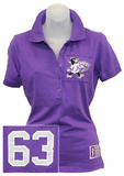 Juniors: Kansas State Wildcats - Collar Scholar Polo Shirt T-shirts