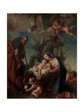 Rest on the Flight into Egypt Giclee Print by Giambettino Cignaroli