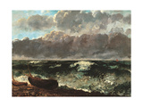 Stormy Sea (The Wave) Giclee Print by Gustave Courbet