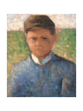 Young Peasant in Blue Giclee Print by Pierre Puvis de Chavannes