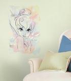 """Fate Disney - Grafica ad acquerello """"I Believe in Fairies"""" gigante (sticker murale) Decalcomania da muro"""