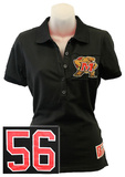 Juniors: Maryland Terrapins - Collar Scholar Polo Shirt T-Shirt