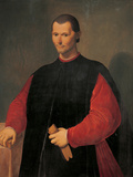 Portrait of Niccolo Machiavelli Giclee Print by Santi Di Tito