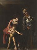 Madonna Palafrenieri Giclee Print by  Caravaggio