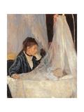 Le berceau Reproduction procédé giclée par Berthe Morisot