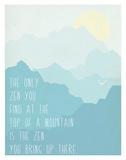Zen 2 Poster by Rebecca Peragine