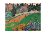 The Fence Giclee Print by Paul Serusier