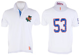 Florida Gators - Collar Scholar Polo Shirt T-Shirt