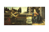 The Annunciation Giclee Print by  Leonardo da Vinci