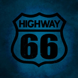 Symbol of Highway 66 Photographic Print by Laetitia Julien