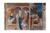 Birth of St John and Circumcision Giclee Print by Jacopo Salimbeni