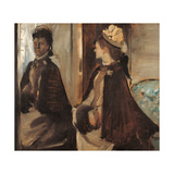 Mrs Jeantaud at the Mirror Giclee Print by Edgar Degas