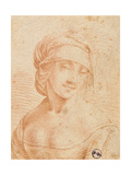 Head of a Young Woman Giclee Print