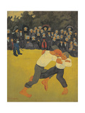 The Fight Giclee Print by Paul Serusier