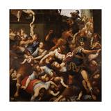 Annunciation Giclée-Druck von Antonio Verrio