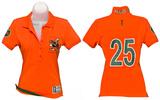 Juniors: Miami Hurricanes - Collar Scholar Polo Shirt Shirt