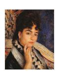 Madame Alphonse Daudet Giclee Print by Pierre-Auguste Renoir