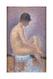 Profile of a Model Giclee Print by Georges Seurat