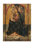 Polyptych of St Gregory Giclee Print by  Antonello da Messina