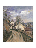 Dr. Gachet's House at Auvers Giclee Print by Paul Cézanne
