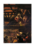The Adoration of the Shepherds (Nativity) Giclee Print by Jacopo Robusti Tintoretto