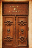 Door Commercial Court Photographic Print by Laetitia Julien