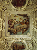 Ceiling of the Stanza Del Negozio Photographic Print by Alessandro Casella