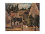 Crossroad of the Rue Rémy Giclee Print by Paul Cézanne