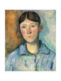 Portrait of Madame Cézanne Giclee Print by Paul Cézanne