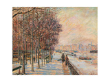 La Place Valhubert Giclee Print by Jean-Baptiste-Armand Guillaumin