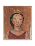 The Small Queen Giclee Print by Massimo Campigli