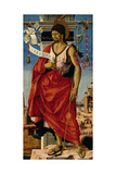 Griffoni Polyptych- St John the Baptist Giclee Print by Francesco del Cossa