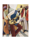 In the Groove 1 Premium Giclee Print by Norman Wyatt Jr.