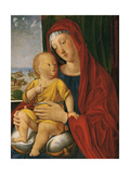 Madonna and Child known as That of the Beautiful Eyes Giclée-tryk af Alvise Vivarini