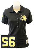 Juniors: Wichita State Shockers - Collar Scholar Polo Shirt T-Shirt
