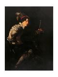 David Giclée-tryk af Domenico Fetti