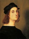 Self Portrait Giclee Print by Raffaello Sanzio