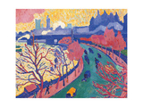 Charing Cross Bridge Giclee Print