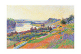 The Seine at Herblay Giclee Print