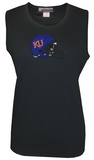 Juniors: Tank Top - Kansas Jayhawks - Crystal Embellished Logo Shirt