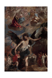 The Guardian Angel (L'Angelo Custode) Giclee Print by Francesco Maffei