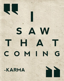 Karma Prints by Rebecca Peragine