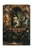 Pity and Saints Giclée-tryk af Giuseppe Maria Crespi