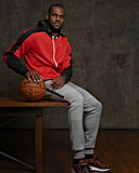 NBA All-Star Portraits 2014: Feb 14 - LeBron James Photographic Print